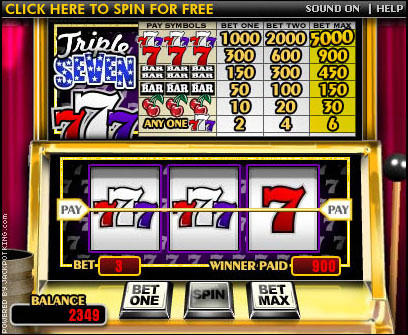 Spin our Free Slot Machine